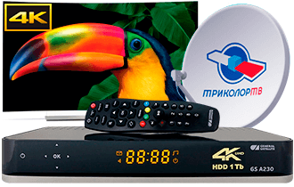 Ресивер GS A230 Ultra HD